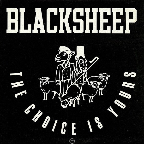 "The cover of the single version of ""The Choice is Yours"", by Black Sheep."